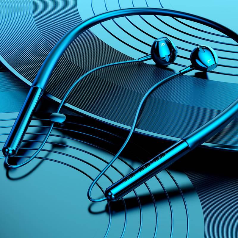 运动无线蓝牙耳机双耳入耳头戴式颈挂脖式跑步型男女通用超小型挂耳oppo苹果华为小米项圈超长待机续航安卓z6