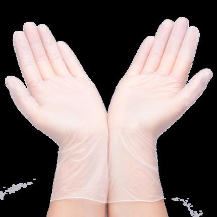 一次性pvc加厚手套100只食品餐饮厨房美容院医生专用可选顺丰发货