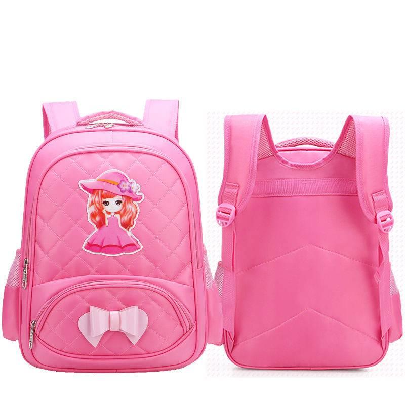 女童小学生书包女学生韩版儿童书包幼儿园女生1-3-6年级女孩背包5
