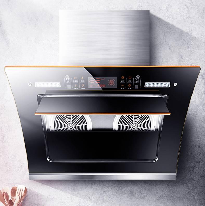 双电机自动清洗抽油烟机壁挂式吸油烟机家用侧吸油姻厨房小型特价