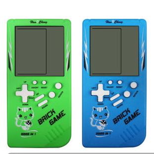 经典俄罗斯方块游戏机掌机PSP怀旧8090后便宜大屏儿童益智玩具
