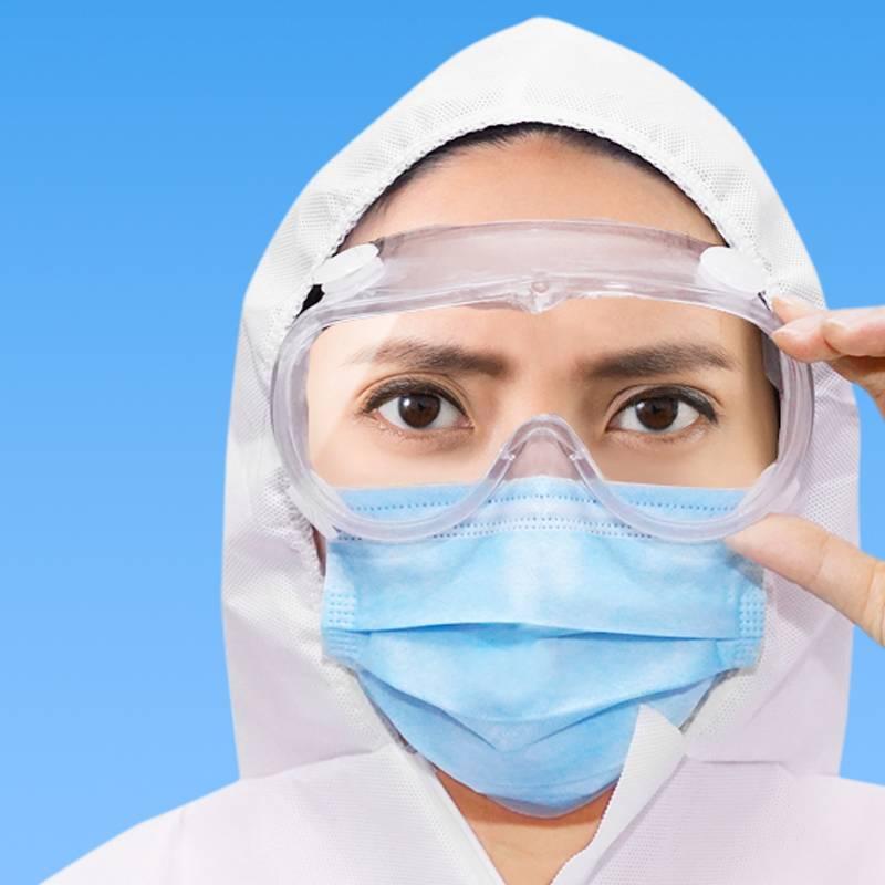 医用防病毒护目镜防唾沫飞溅全封闭透气眼镜防尘劳保透明隔离眼罩