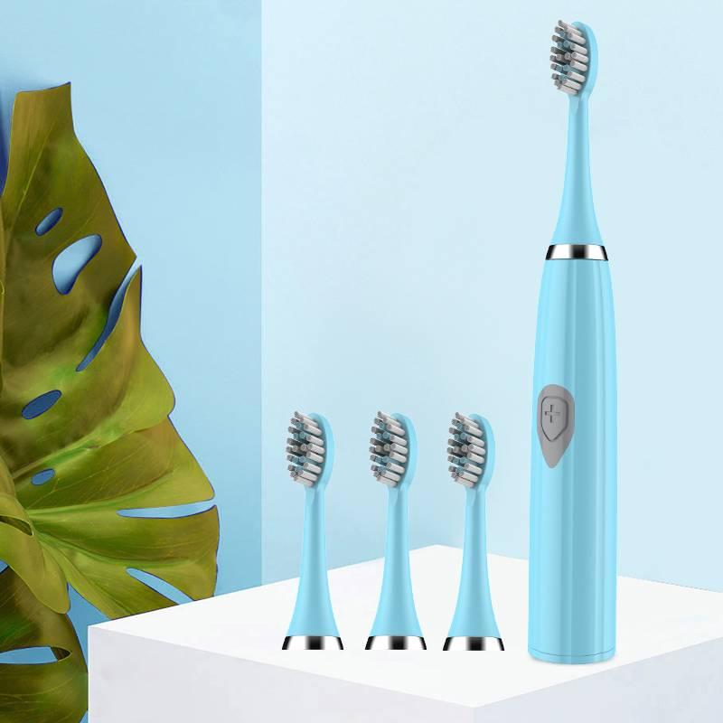 希尔顿电动牙刷成人非充电式声波超全自动学生男士女情侣软毛牙刷