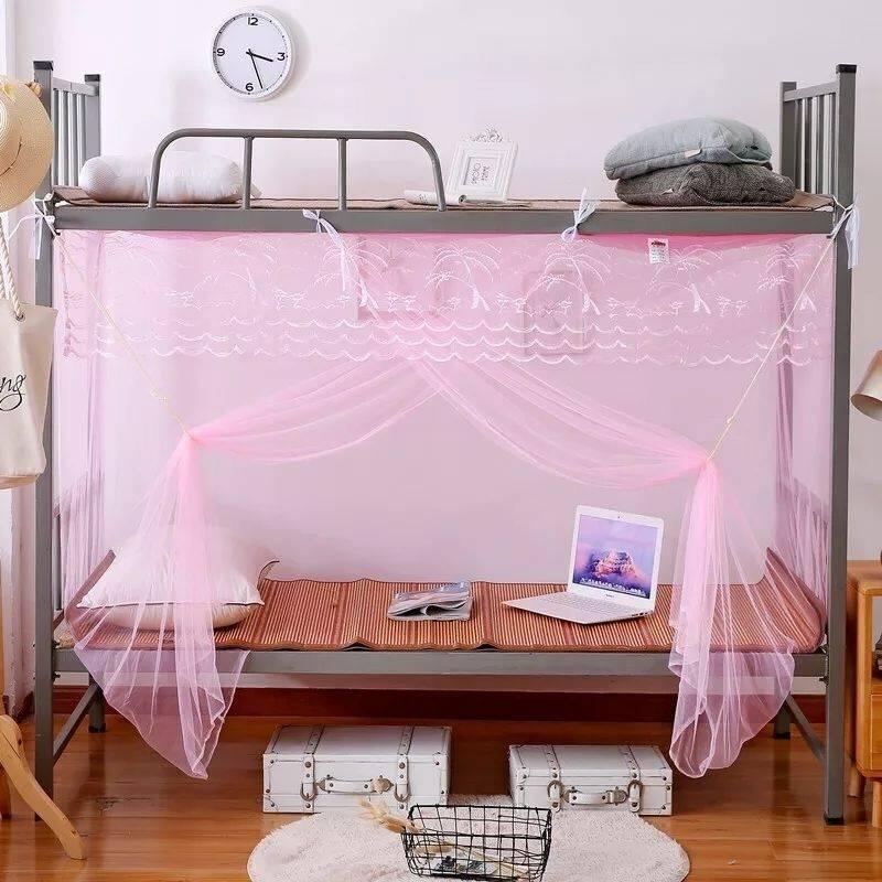 【特密学生宿舍蚊帐】双人家用1.8m子母床上下铺蚊帐单人0.9m
