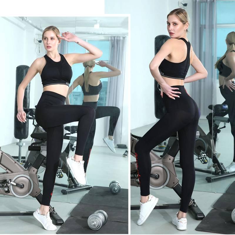 2020新款联名澳洲燃脂瘦腿裤美腿塑形健身瑜伽裤女百搭小狗裤四代