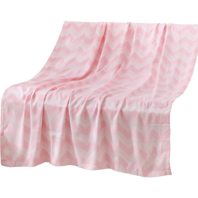 竹纤维儿童盖毯夏季薄夏凉被毛巾被幼儿园午睡小毯子冰丝毯空调毯