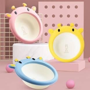 3个装初生婴儿洗脸盆卡通家用盆子