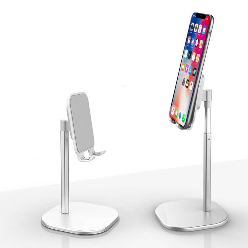 懒人手机支架桌面ipad平板通用视频直播升降调节网课学习支架简约小巧便携折叠托床头多功能苹果华为手机支架