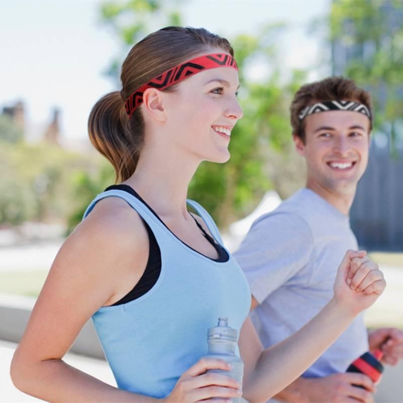 导汗带硅胶跑步运动头带男女防汗吸汗马拉松瑜伽健身篮球止汗发带