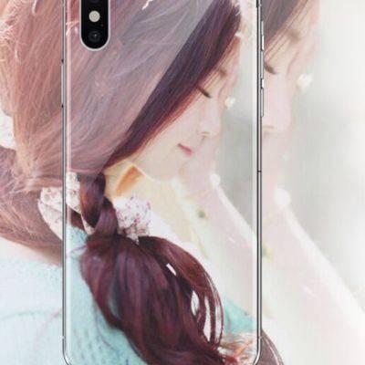 定制手机任意机型型号苹果11x情侣diy华为P30来图订制oppo玻璃壳