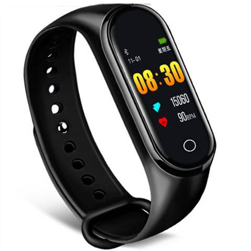 智能手环手表运动计步器闹钟测心率血压电子防水情侣男女学生多功能手表4代适用于苹果小米oppo华为荣耀手机