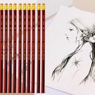 【马利牌】10支铅笔+1张素描纸