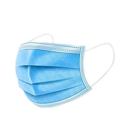 【现货10只包邮】一次性口罩三层蓝色防尘透气tz