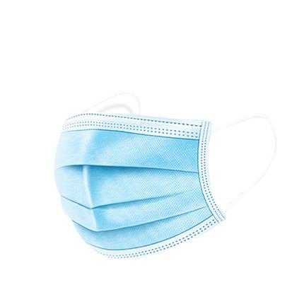 三层防护一次性口罩无纺布透气防尘熔喷布成人口罩