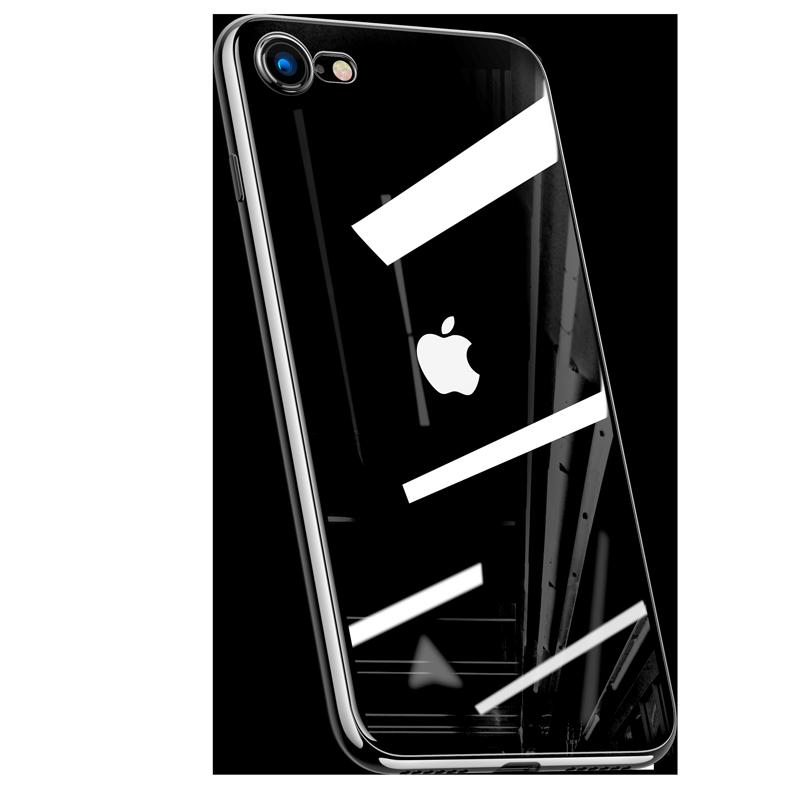 iPhone SE2手机壳苹果SE透明超薄2020新款iPhoneSE2第二代硅胶全包防摔软i9智能保护套se2玻璃iP
