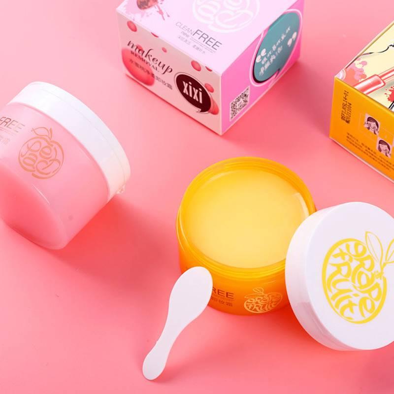 柚子卸妆膏脸部温和深层清洁霜敏感肌肤专用卸妆乳水油眼唇液水乳