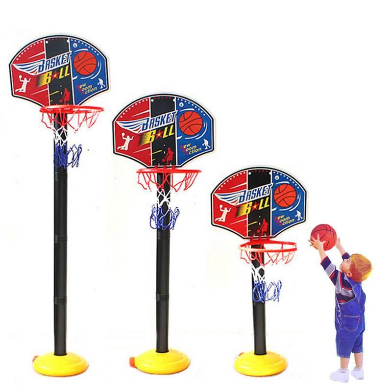 儿童篮球架子宝宝可升降投篮筐架篮球框家用室内运动户外亲子玩具