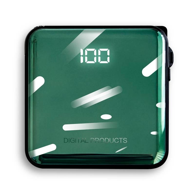 瑞典品牌sy充电宝20000毫安18WPD快充自带线迷你大容量移动电源超薄小巧便携适用苹果专用小米超大量1000000