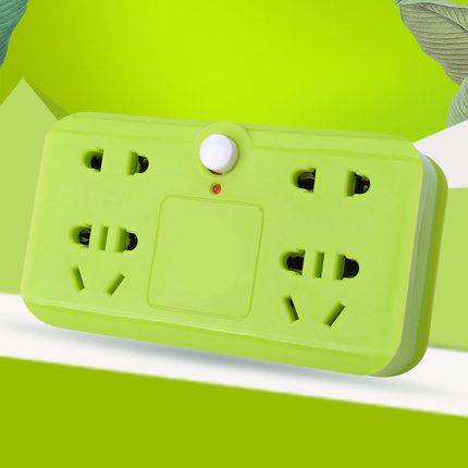 多功能插座转换器插头分插排无线插板不带线usb面板多孔家用排插