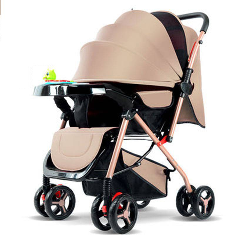 【双向推行】高景观婴儿车可坐可躺可折叠超轻便宝宝儿童婴儿推车