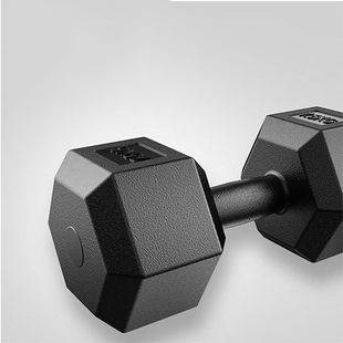 哑铃男士健身 六角环保哑铃女一对 学生 儿童单只练臂减肥器5公斤