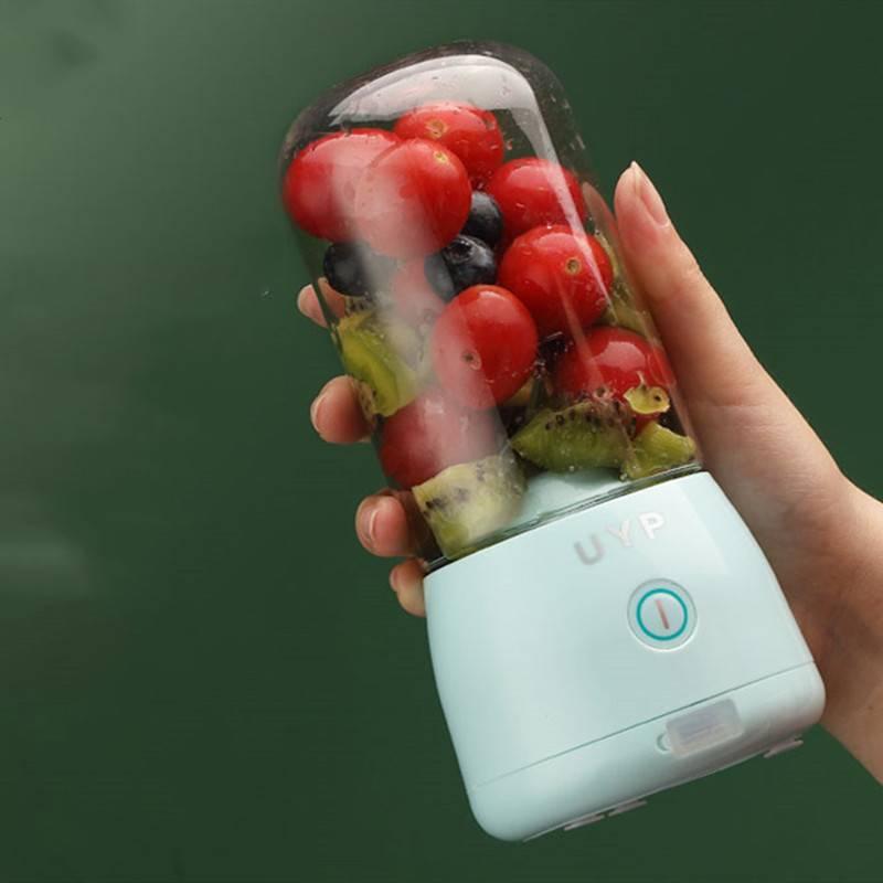 UYP榨汁机家用水果小型便携式多功能榨果汁机电动迷你无线榨汁杯