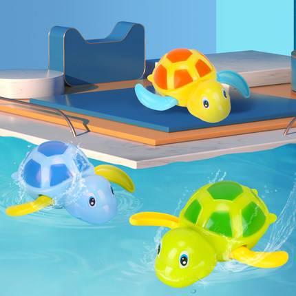 洗澡玩具宝宝男孩儿童戏水小乌龟婴儿电动向日葵喷水花洒喷头女孩