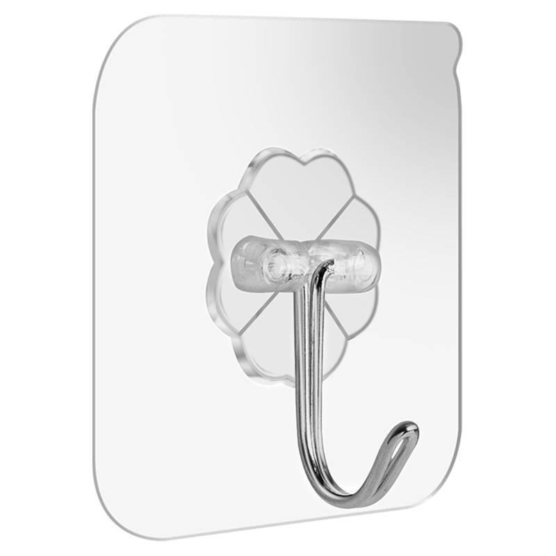 挂钩子强力粘胶墙壁挂墙上吸盘无痕承重浴室厨房勾粘贴免打孔粘钩