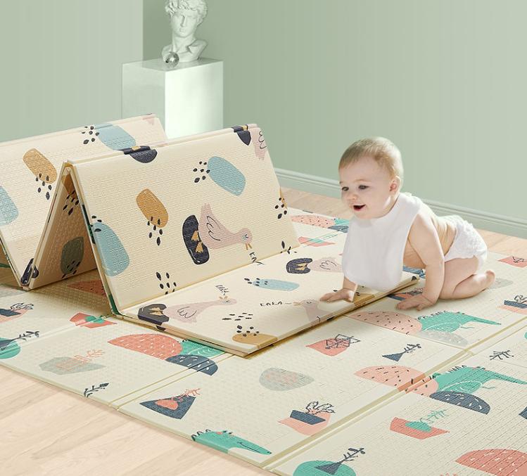 【限时特价】XPE折叠EPE普通爬行垫婴儿童加大加厚防水防滑爬爬垫