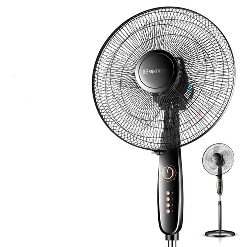 金正电风扇家用静音摇头机械落地扇定时台式立式宿舍节能遥控风扇