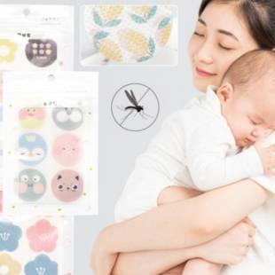 成人兒童卡通驅蚊貼 嬰兒孕婦植物精油防蚊貼 寶寶戶外便攜身防蚊