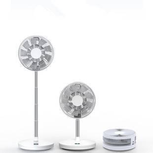 伸缩折叠果岭风扇便携式电风扇静音摇头可充电落地扇家用台式电扇
