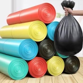 垃圾袋家用背心手提式加厚大号实惠装提拉圾圾桶塑料袋中号一次性