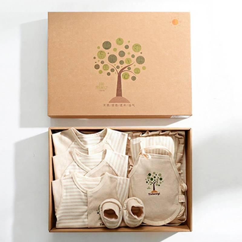 新生婴儿衣服礼盒套装纯棉夏季刚出生初生宝宝满月用品大全薄款物