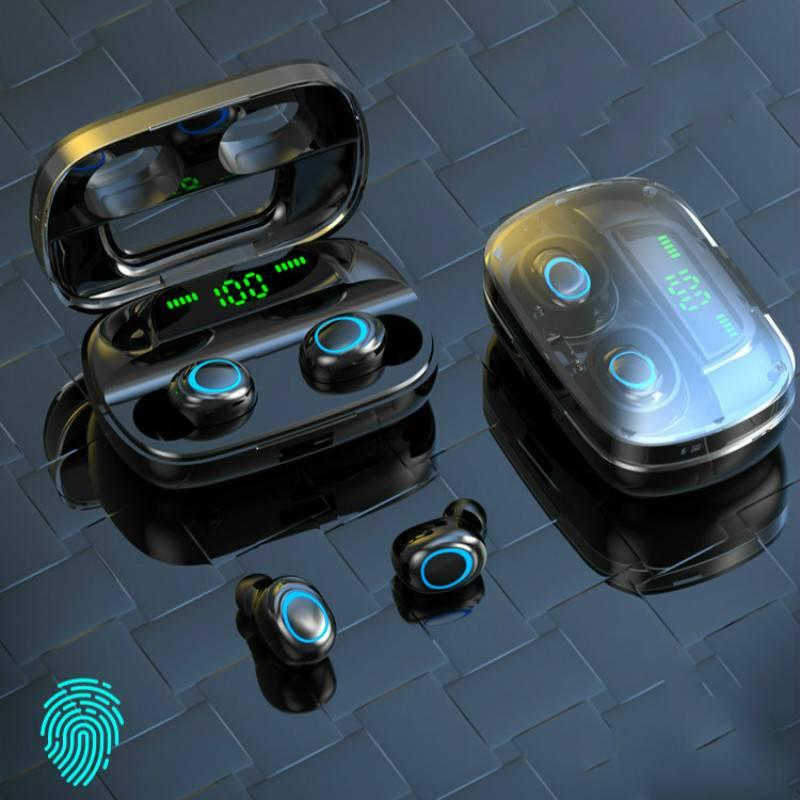蓝牙耳机双耳真无线运动跑步超长待机迷你安卓苹果小米华为viS11
