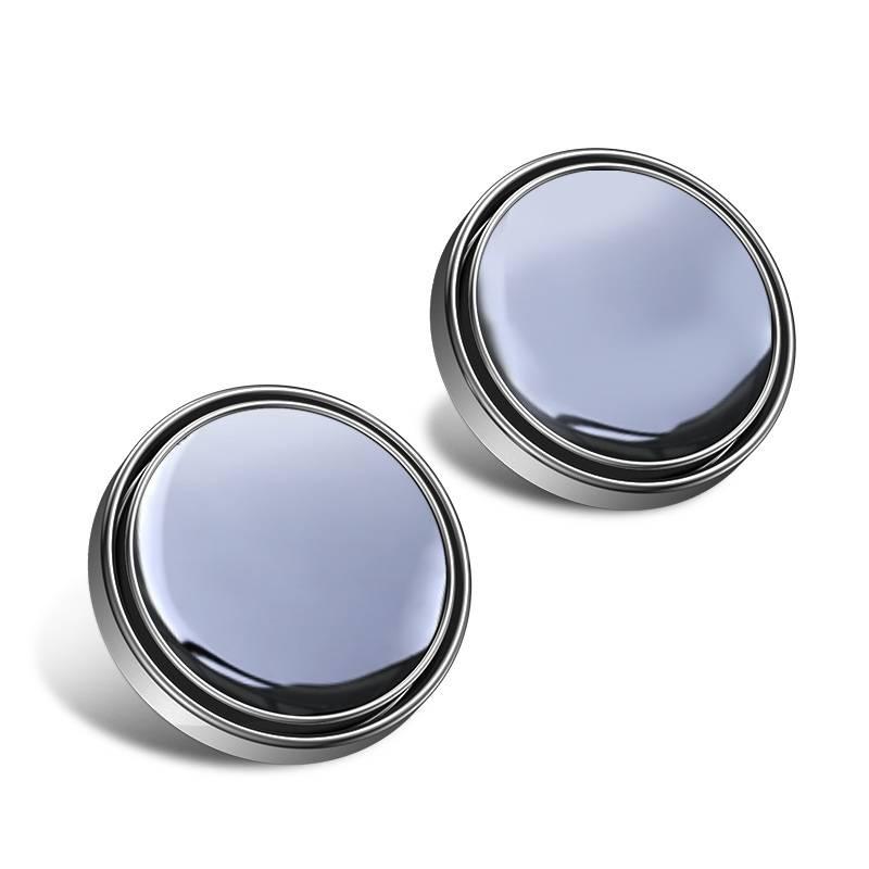 小圆镜后视镜汽车辅助镜小车倒车神器多功能高清反光镜360度可调