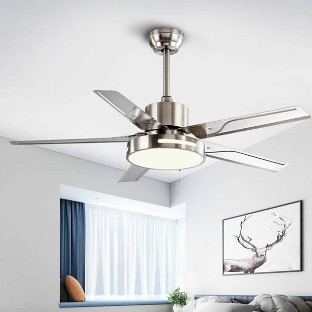 奥克斯大吊扇大风力家用客厅餐厅大吊顶48寸56寸80寸工业电风扇