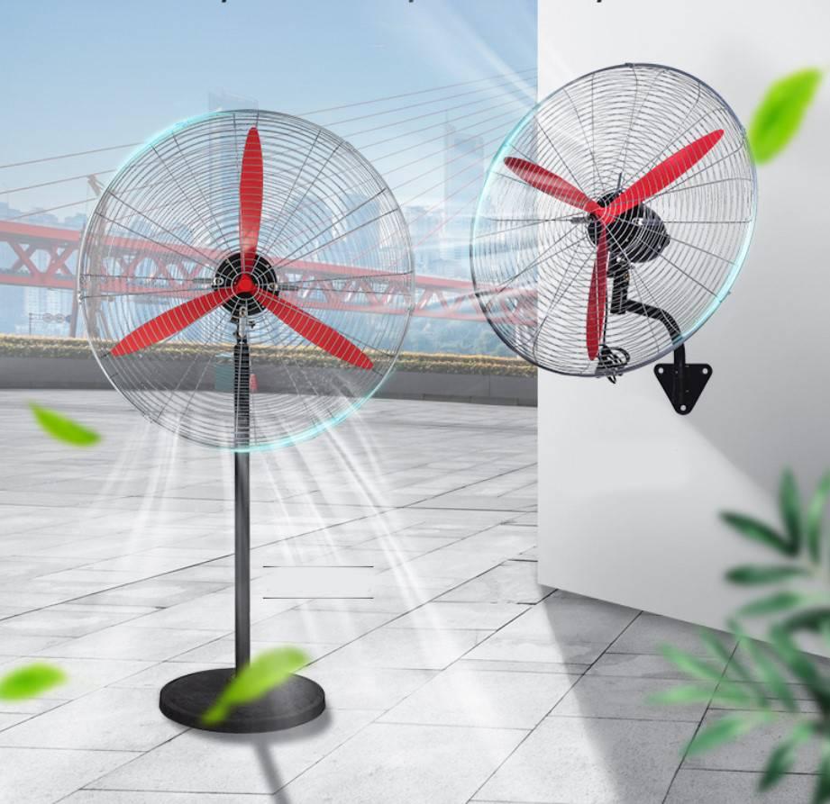 工业电风扇强力落地扇大功率牛角扇立式商用工厂壁扇大风量壁挂式