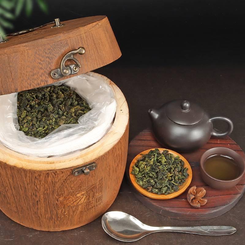 37安溪铁观音茶叶特级清香型乌龙茶浓香型兰花香散茶礼盒装500gH