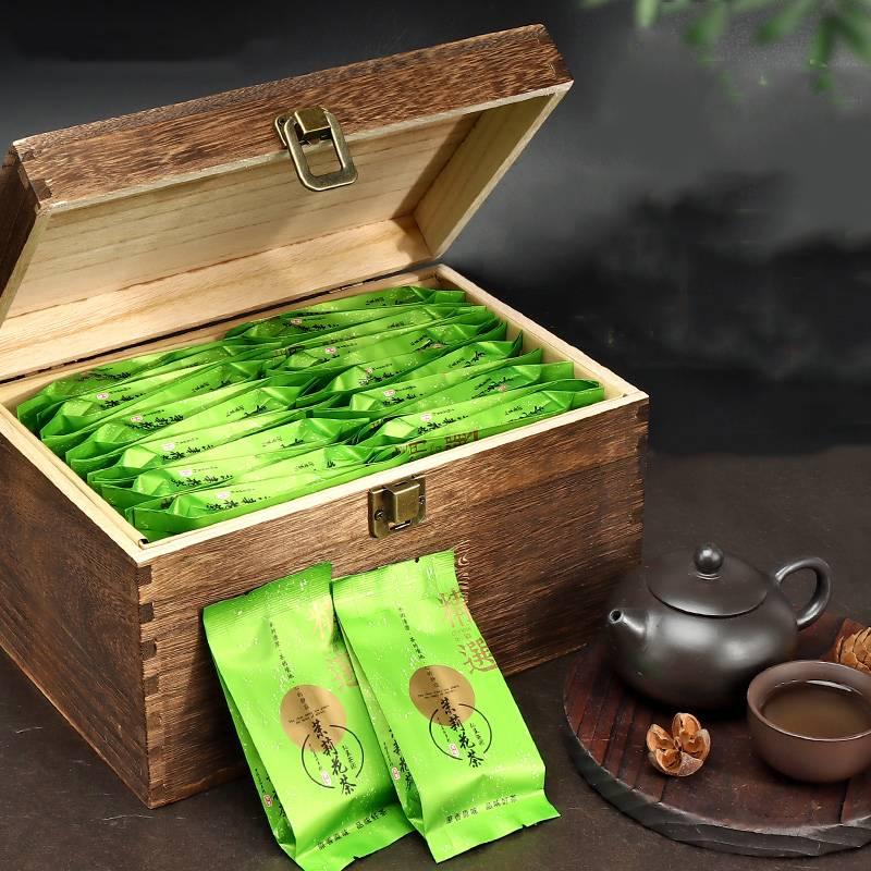 31福建茶叶茉莉花茶浓香型特级正品绿茶2019年新茶包装礼盒装500H