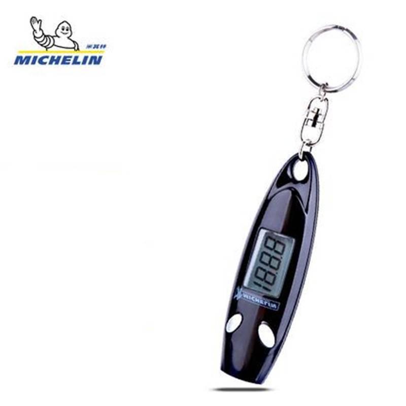 米其林胎压监测器高精度数显胎压计汽车数字轮胎压表气压表测压器