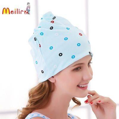 月子帽孕妇产妇春夏季头巾帽子发带纯棉时尚薄款防风产后用品帽子