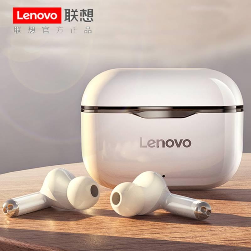 联想LP1无线蓝牙耳机双耳运动入耳式适用苹果华为vivo安卓oppo手机iphone通用三代单耳小型超长待机续航游戏