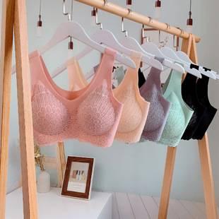 泰國乳膠內衣女4.0無鋼圈美背聚攏收副乳調整型背心式運動文胸罩