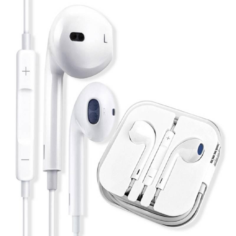 入耳式线控带麦通用男女生触控蓝牙耳机线适用iphone华为小米vivo三星安卓手机有线孔重低音运动跑步无痛耳机