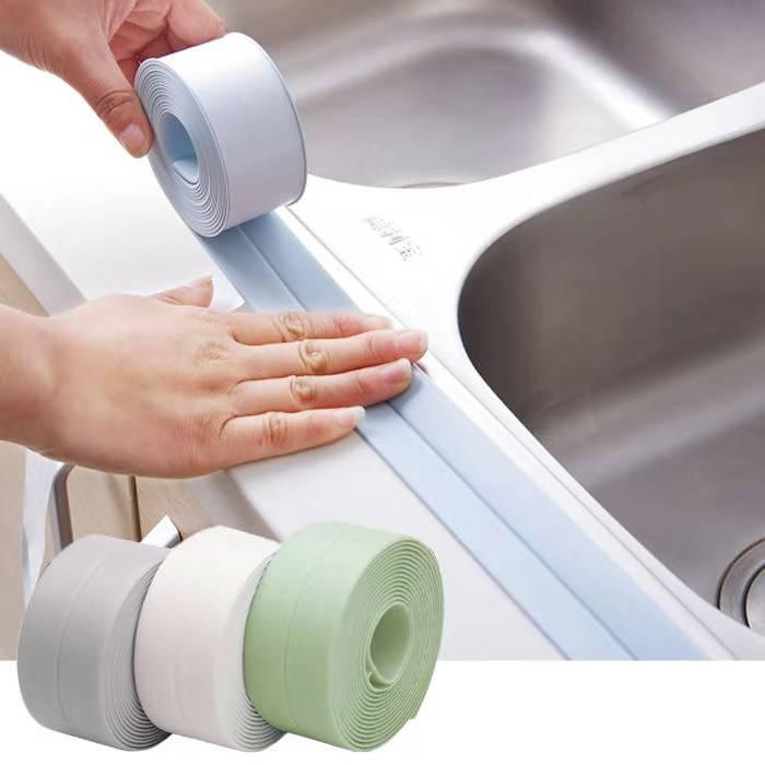 厨卫防水防霉胶带 厨房接缝密封条 防水条浴室马桶缝隙墙角线贴