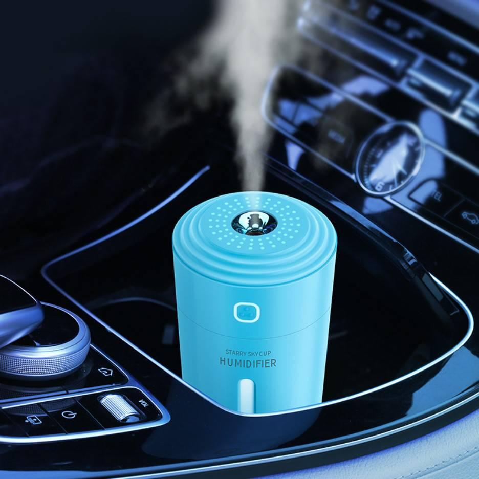 全新升级车载加湿器香薰喷雾空气净化器车载家用办公桌迷你加湿器