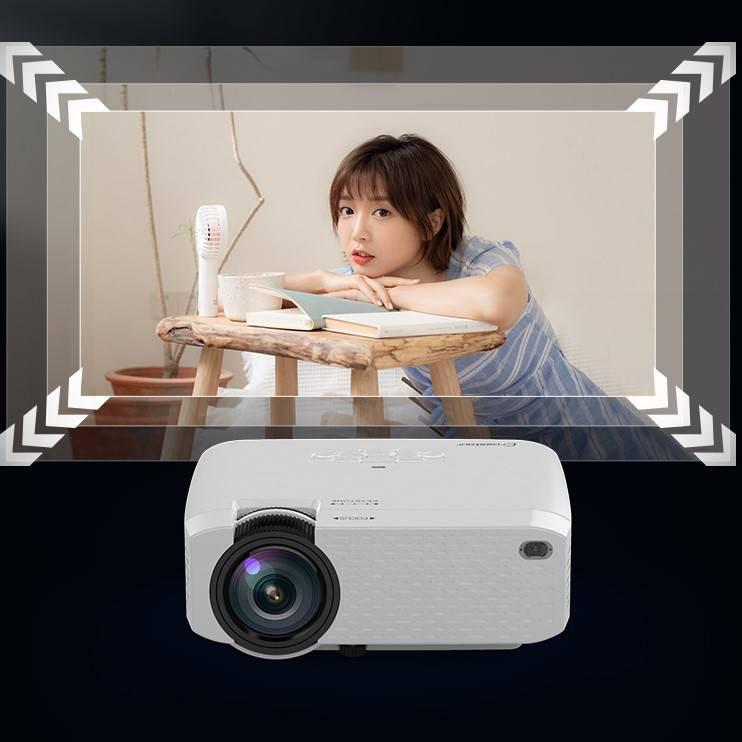 手机投影仪家用便携式墙上看电影办公一体机无线迷你微小型投影机