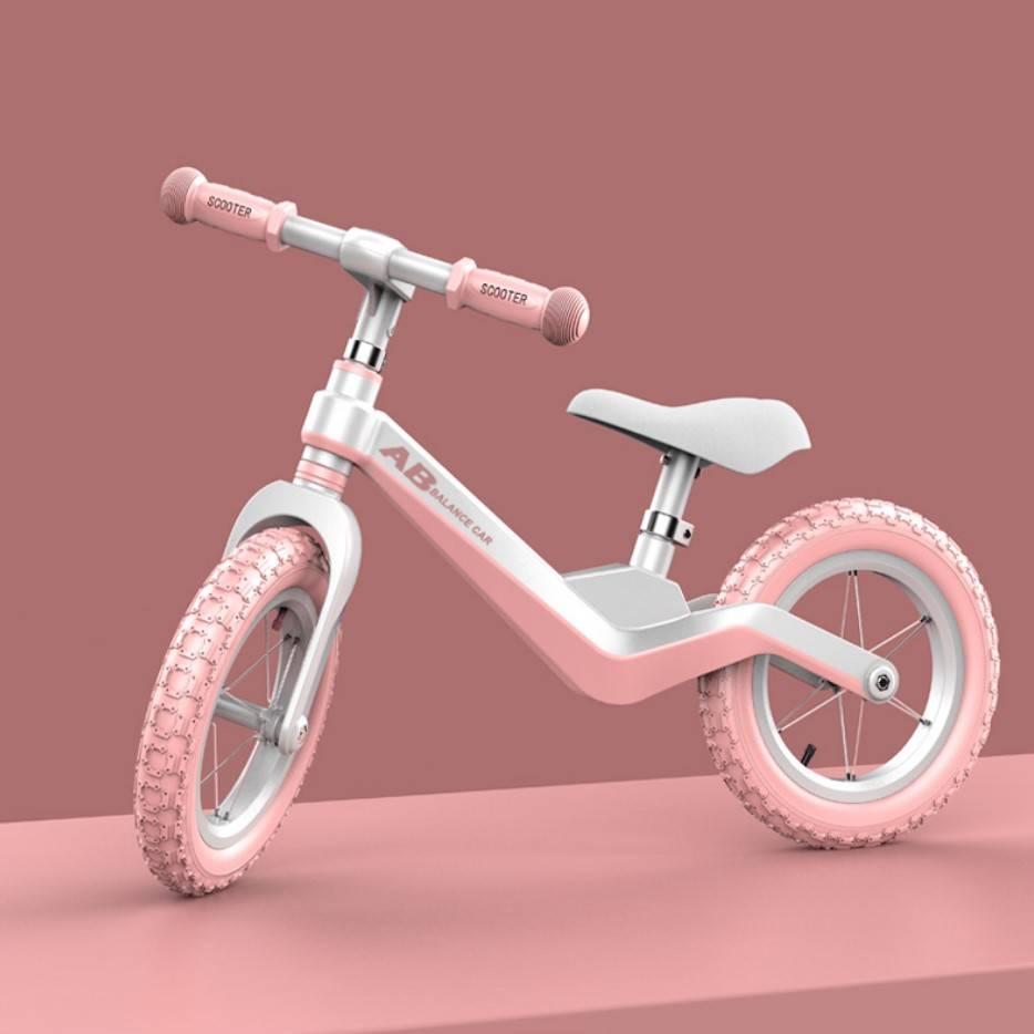平衡车儿童1-3-6岁无脚踏滑步车宝宝小孩平衡自行车溜溜车豪华款