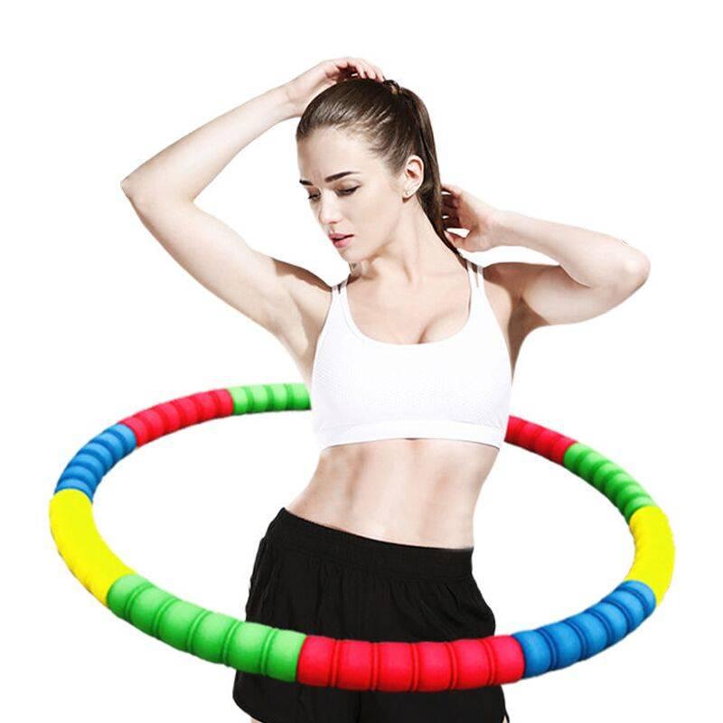 呼啦圈成人女减肥圈收腹美腰瘦腰加重健身初学者正品哗啦腹呼拉圈
